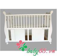 Picture of Giường xếp Suri cho em bé màu trắng
