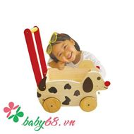 Picture of Xe tập đi bằng gỗ chó chở đồ chơi Winwintoys