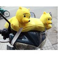 Gối Đi Xe Máy 2 Đầu Gấu Pooh