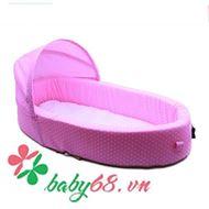 Picture of Nôi ngủ di động Tiny Bebi màu hồng tím
