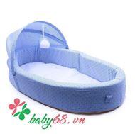 Picture of Nôi ngủ di động Tiny Bebi màu xanh tím