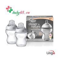Bình Bú Sữa Chống Sặc BPA Free 260ml (1bình/Hộp) - 421113/38