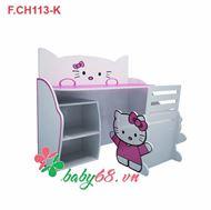 Show details for Bàn học cho trẻ em hello kitty BH04