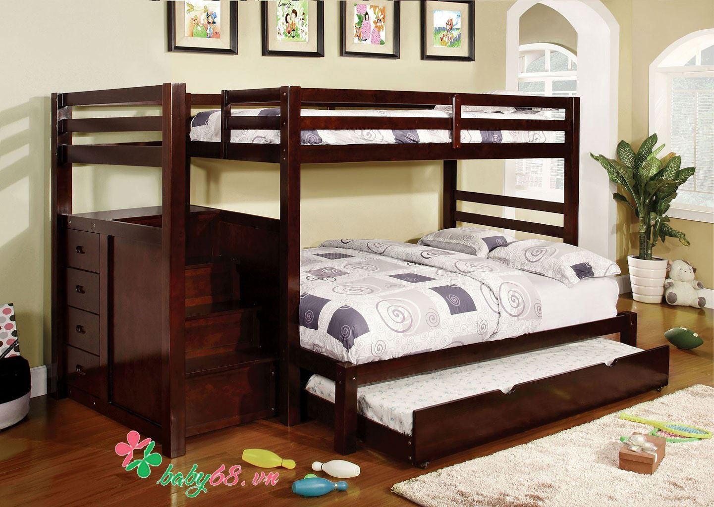 Giường Tầng Giường Cũi Giường Tầng Trẻ Em